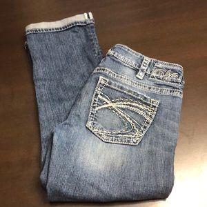 "Silver ""santorini"" jeans size 29"